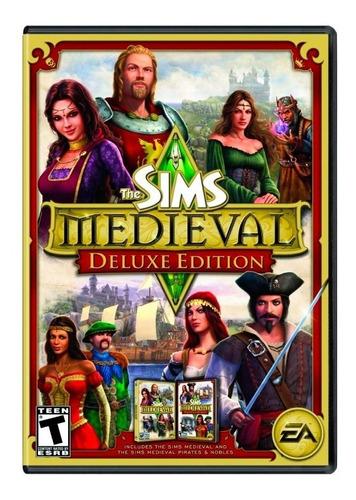 los sims medieval juego pc fisico pc mac simulador envio