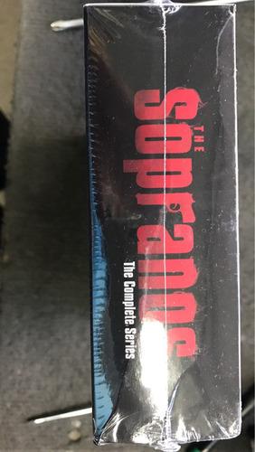 los sopranos serie completa en blu ray caja sellada nueva