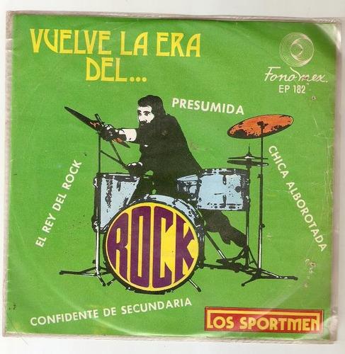 los sportmen ep vuelve la era del... rock