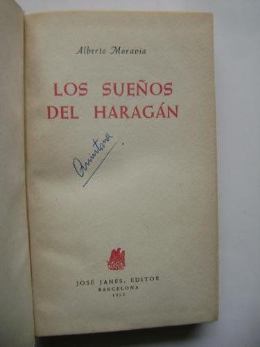 los sueños del haragán / alberto moravia / empaste original