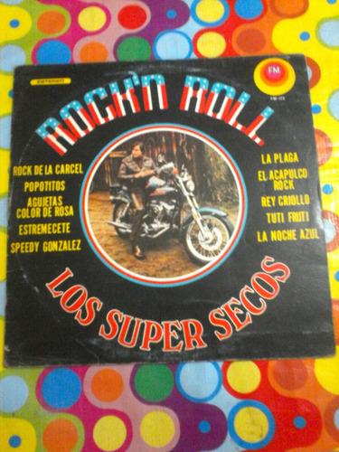 los super secos lp rock'n roll