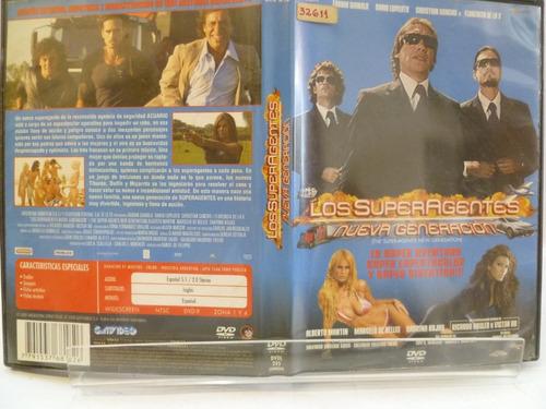 los superagentes nueva generación dvd original 1bg