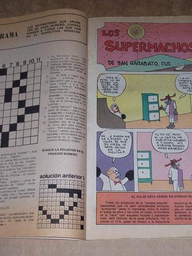 los supermachos rius #783 enero 1981 comic