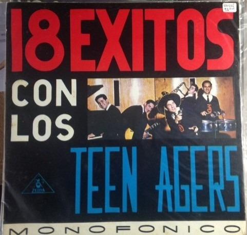 los teen agers, 18 exitos  vinilo colombia