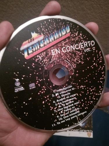 los temerarios el concierto vol. 1 y 2 (1994 y 1996)