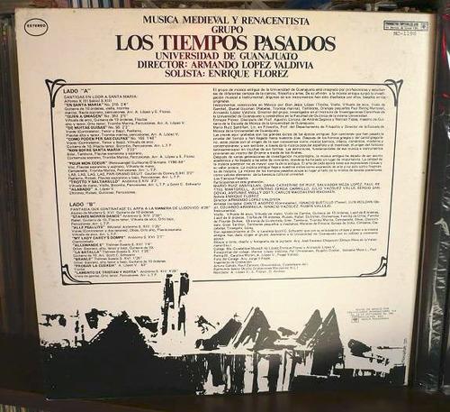 los tiempos pasados lp musica medieval y renacentista