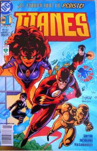 los titanes # 1 / dc comics / ed. vid