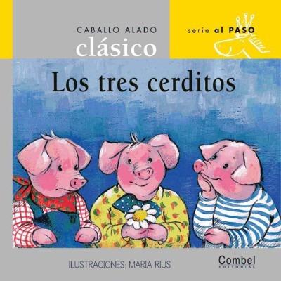 los tres cerditos (letra palo)(libro infantil)