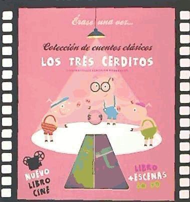 los tres cerditos: libro-cine(libro infantil y juvenil)