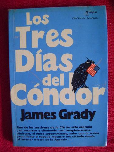 los tres días del cóndor (1974) - james grady