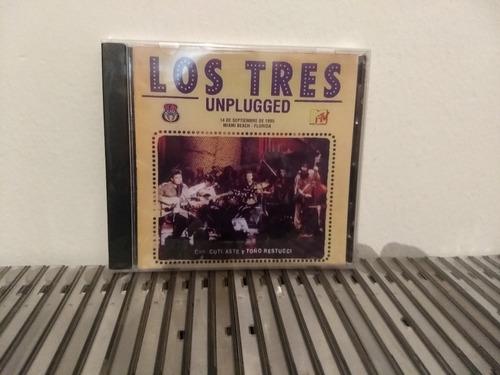 los tres mtv unplugged cd 1996 nuevo cerrado