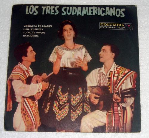 los tres sudamericanos virgencita de caacupe simple c/tapa