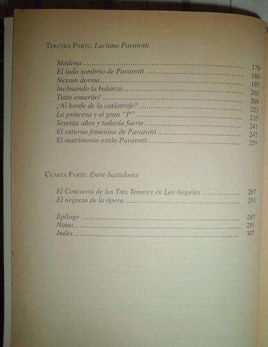 los tres tenores y su vida privada - marcia lewis