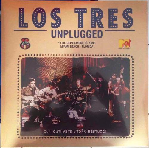los tres unplugged vinilo doble nuevo y sellado obivinilos