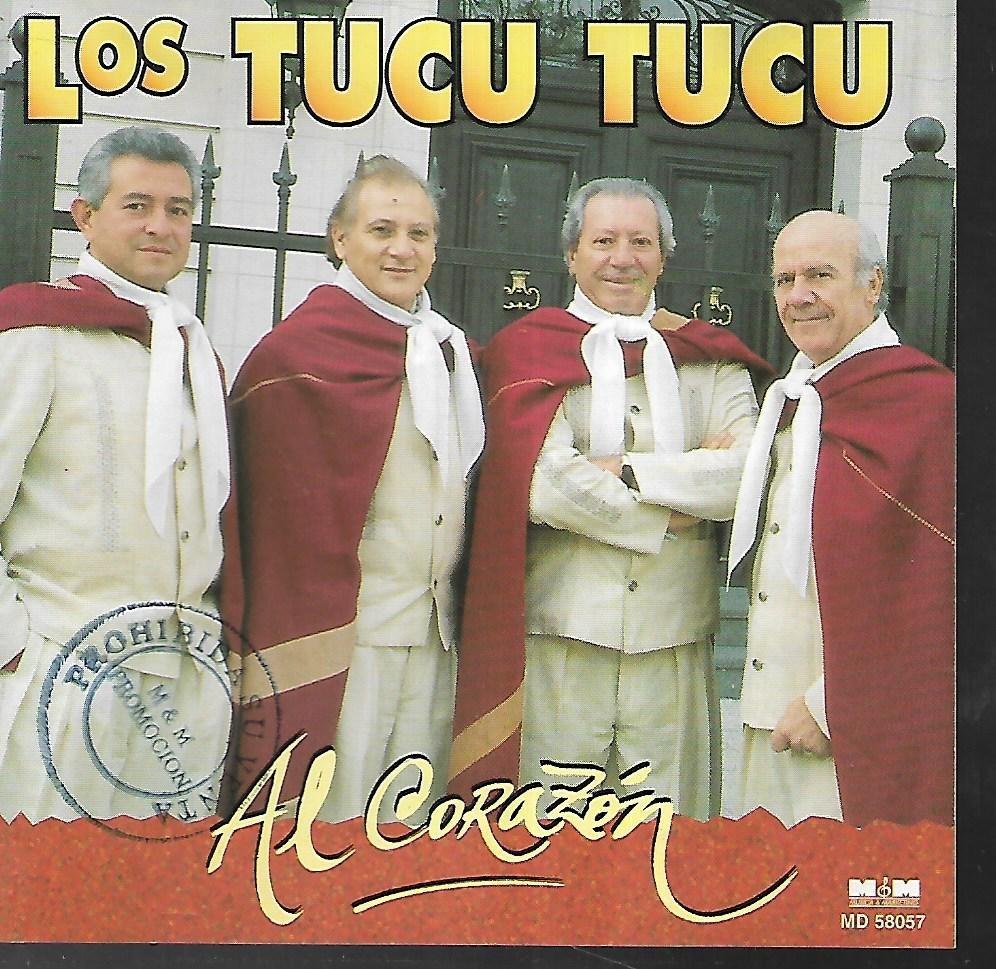 85137cb13 Los Tucu Tucu Album Al Corazon Sello M&m Cd - $ 200,00