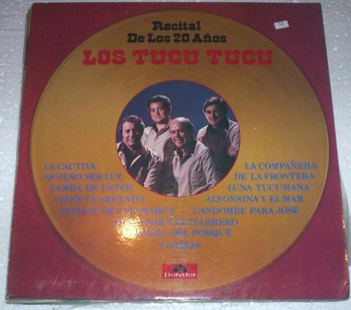 los tucu tucu recital de los 20 años  lp argentino