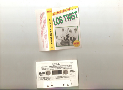 los twist - lo mejor de - cassette- maceo-disqueria