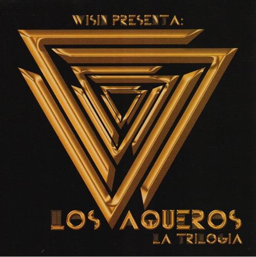 los vaqueros la trilogia - wisin - 2 discos cd - nuevo