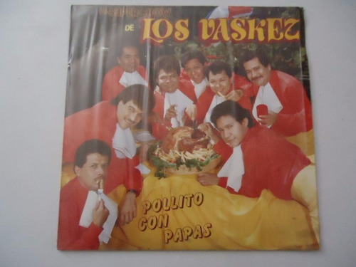 los vazquez / pollito con papas vinyl lp acetato