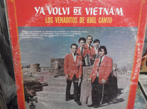 los venaditos de abel cantu ya volvi de vietnam lp
