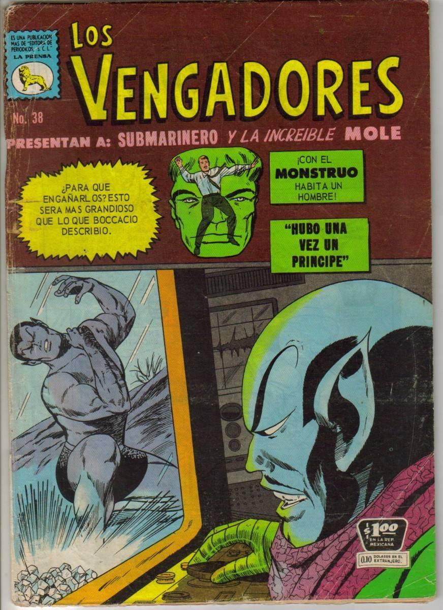 Los Vengadores Comics (la Prensa) $300 (1967) - $ 300.00