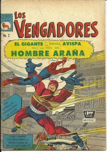los vengadores num 2 la prensa año 1965