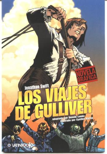 los viajes de gulliver -por jonathan swift  comic en español