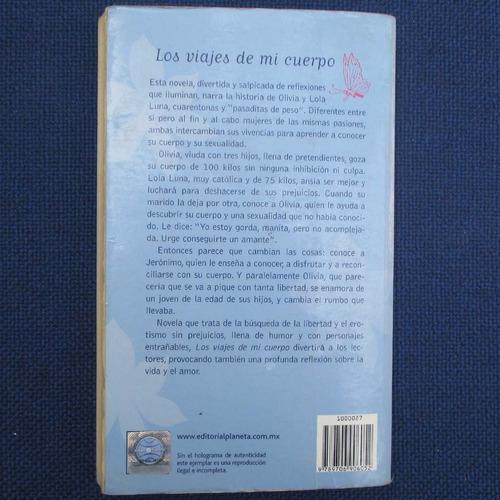 los viajes de mi cuerpo, rosa nissan, ed. planeta
