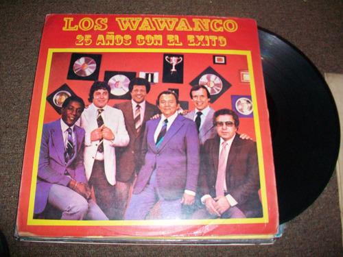 los wawanco, musica bailable en acetato lp, buen estado