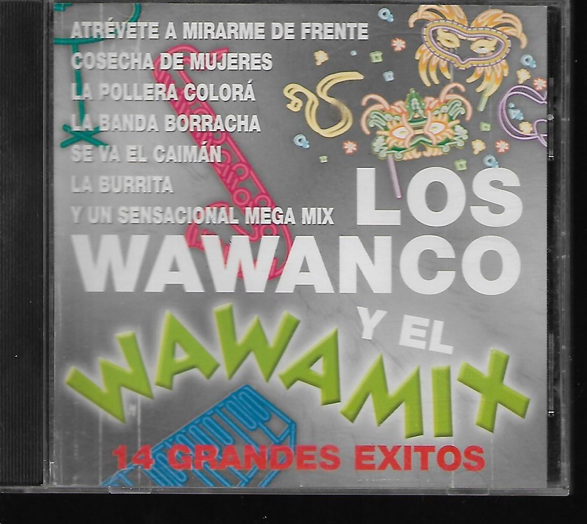 Los Wawanco Y El Wawamix 14 Grandes Exitos Sello Emiodeon Cd