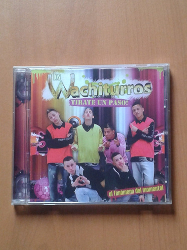 los wuachiturros tirate un paso! cds original