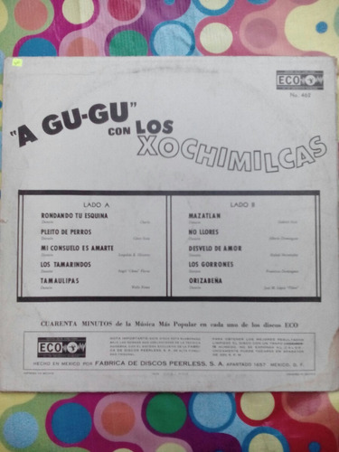 los xochimilcas lp  a gu-gu  1966