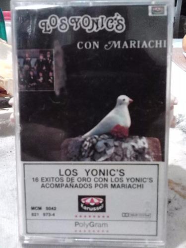 los yonics - con mariachi (casete original)