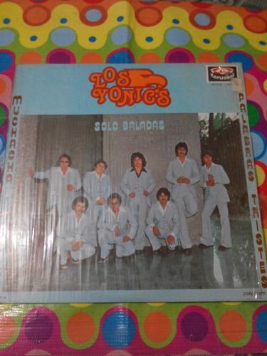 los yonics lp solo baladas 1980