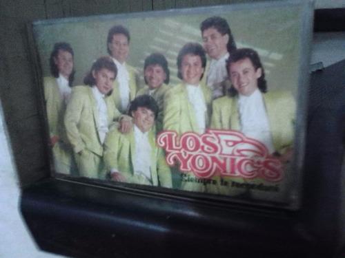 los yonics - siempre te recordaré (casete original)