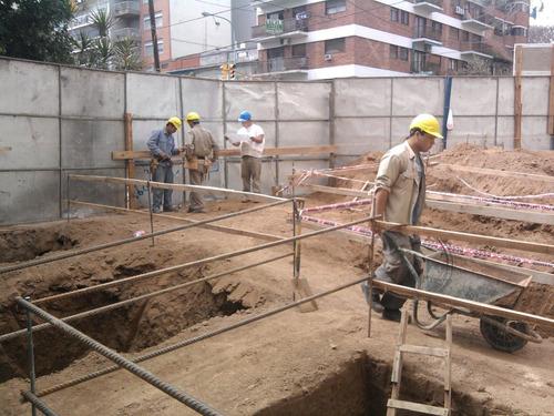 losa de hormigon armado bases columnas vigas constructora