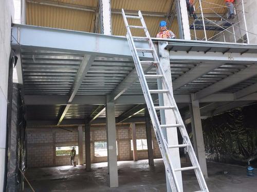 losacero, instalacion estructura metalica en queretaro