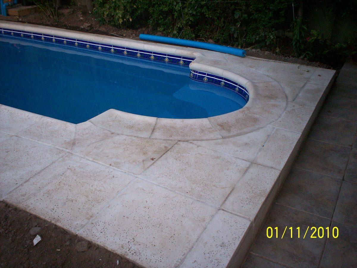 Loseta borde piscina en mercado libre for Bordillo piscina