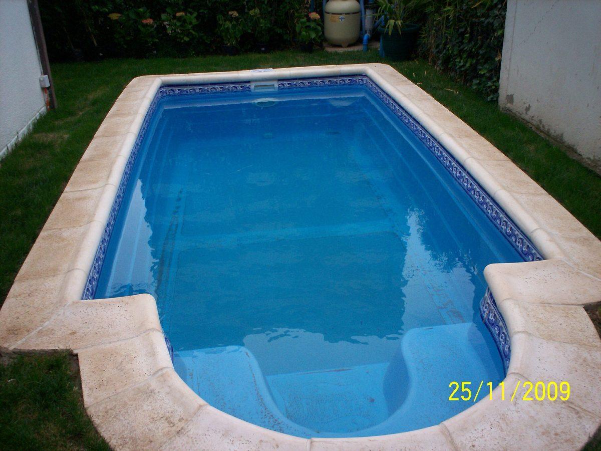 loseta borde piscina en mercado libre