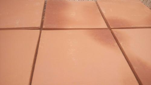 loseta de barro 30cm x 30cm pieza