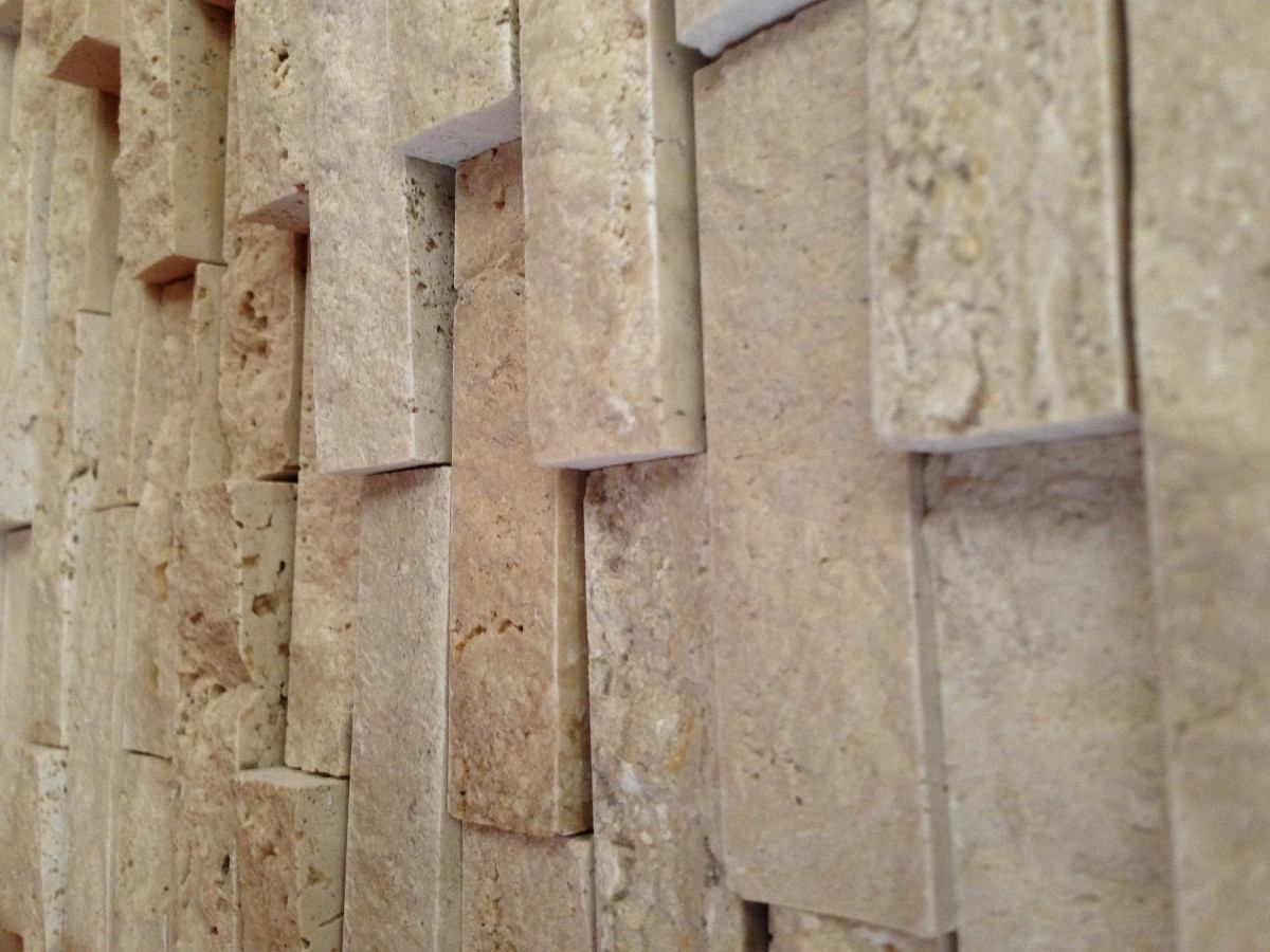 Loseta de marmol y travertino serie 3d tridimensional for Comprar losetas vinilicas pared