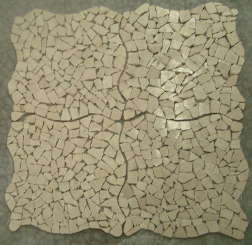 loseta  marmol random pebbles acabado tomboleado mate