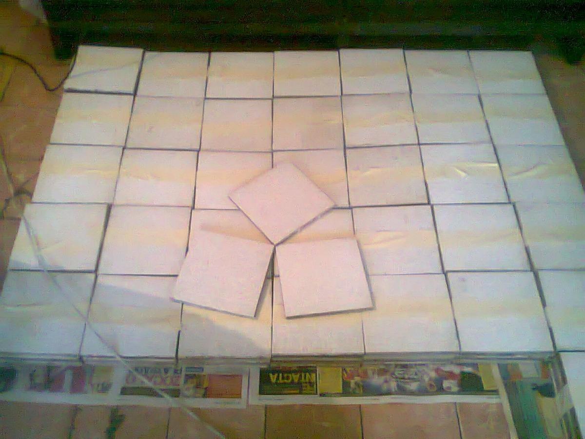 Loseta para piso color blanco de 20 x 20 cm c u 1 500 for Donde buscar piso