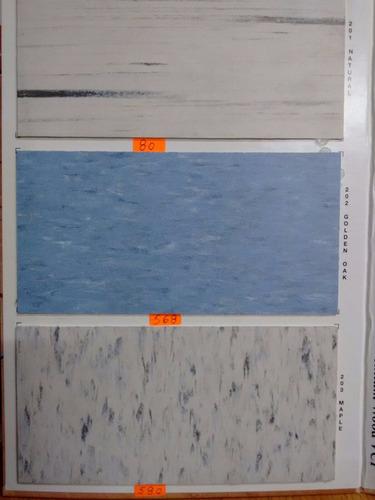 loseta vinilica 1.6mm solo $115 m2