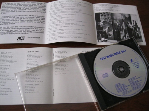 lost blues tapes : cd japonês ~ blues raiz ~ led zeppelin