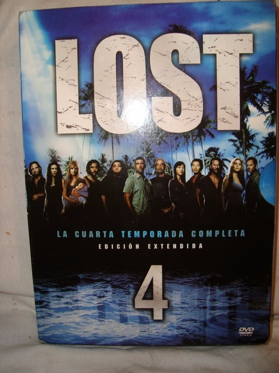Lost Cuarta Temporada Original 6 Dvd Ed.extendida Caballito - $ 180 ...