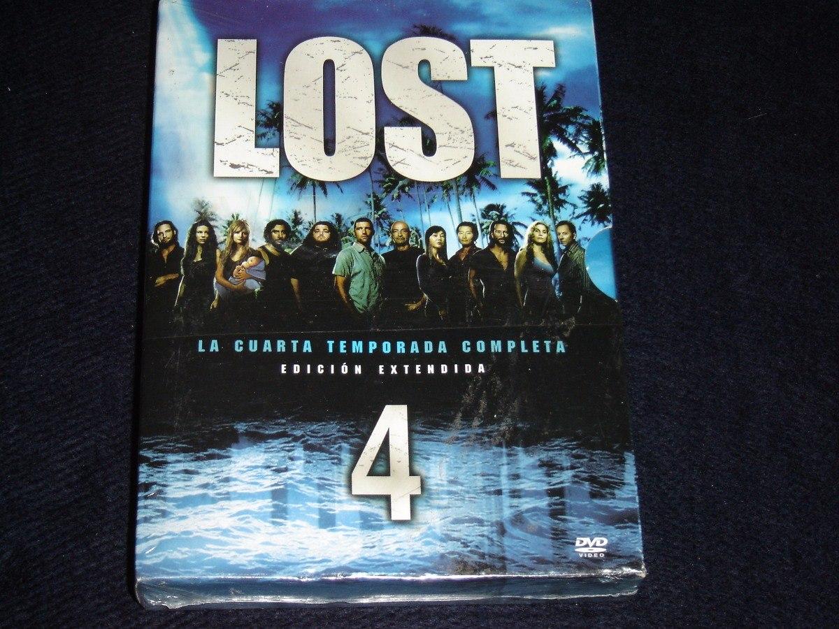 Lost Dvd Temporada 4 ( Original) - $ 499,99 en Mercado Libre