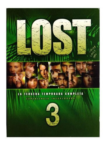lost perdidos tercera temporada 3 tres serie dvd
