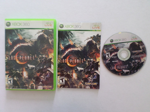 lost planet 2 xbox 360 garantizado