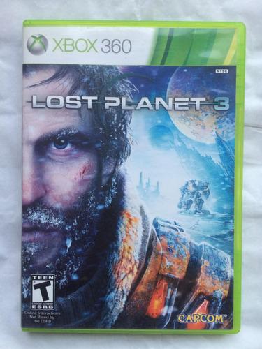 lost planet 3 xbox 360 envíos todo chile